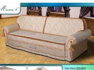 Диван прямой Милена 6 - Мебельная фабрика «Мечта»
