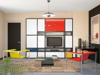 Гостиная стенка 068 - Мебельная фабрика «Mr.Doors»