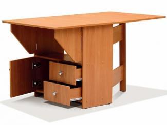 Стол-тумба с ящиками и дверкой - Мебельная фабрика «Актив М»