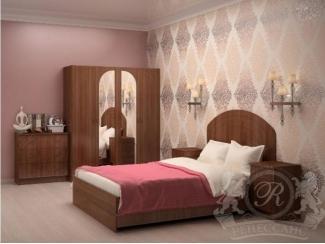 Спальный гарнитур Каприз МДФ - Мебельная фабрика «Ренессанс»