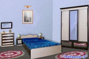 Спальный гарнитур Татьяна 2 - Мебельная фабрика «Колибри»