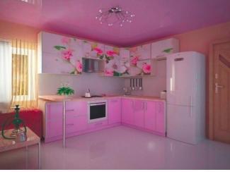 Кухня Нежный букет - Мебельная фабрика «Мега Сити-Р»