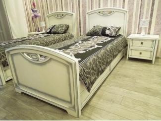 Односпальная кровать Пеппи  - Мебельная фабрика «Аллант»