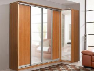 Шкаф угловой с зеркалом - Мебельная фабрика «Аджио»