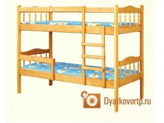 Детская кровать Сашенька 2 - Мебельная фабрика «Дятьковское РТП-1»
