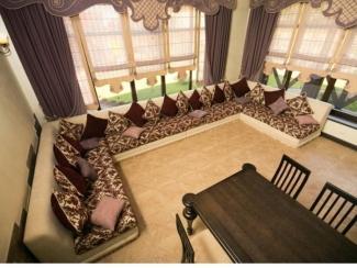 Большой П-образный диван  - Мебельная фабрика «Евростиль», г. Казань