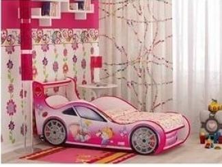 Кровать Девочка и Слоник - Мебельная фабрика «Red River»
