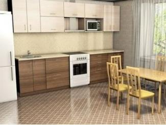 Кухня прямая НИКА ЛДСП - Мебельная фабрика «Мебельный двор»