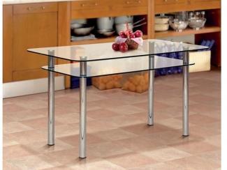 Стол обеденный из стекла-1 - Мебельная фабрика «Фант Мебель»