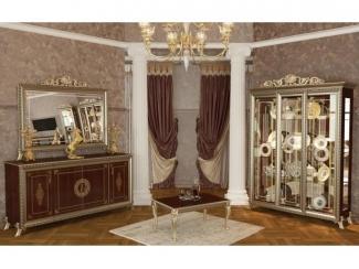 Дорогая мебель для гостиной Версаль орех 2 - Мебельная фабрика «Мэри-Мебель»