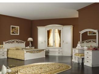 Спальня Элеганца - Мебельная фабрика «Мебель Черноземья»
