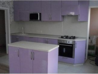 Фиолетовая кухня Пластик  - Мебельная фабрика «Вектра-мебель»