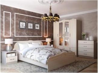 Светлая мебель для спальни Фея  - Мебельная фабрика «Горизонт»
