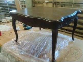 Стол из массива дерева - Изготовление мебели на заказ «3dluxe»