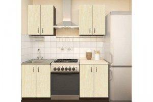 Прямой кухонный гарнитур - Мебельная фабрика «Мебельный Кот»