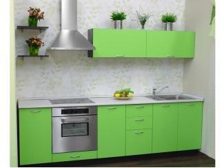 Кухня зеленая Амелия МДФ - Мебельная фабрика «Мебель Цивилизации»