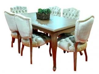 Обеденный комплект Венеция  - Мебельная фабрика «Металл Плекс»