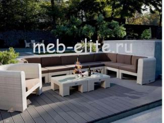 Угловой диван Ротанг Мазара - Импортёр мебели «MEB-ELITE (Китай)» г. Москва
