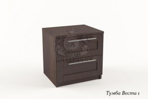 Прикроватная тумба Веста 1 В-29 - Мебельная фабрика «Каприз»