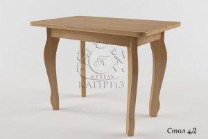 Деревянный стол 4Д - Мебельная фабрика «Каприз»
