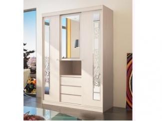 Светлый шкаф-купе Комо - Мебельная фабрика «Бурэ»