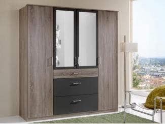 Шкаф распашной с зеркалами - Мебельная фабрика «Мебель Тек», г. Пенза