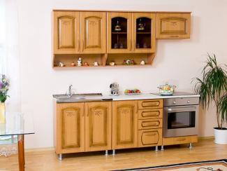 Кухня прямая Андреа патина - Мебельная фабрика «Вариант М»