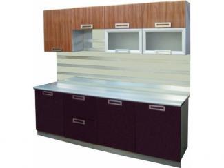 Кухонный гарнитур Баклажан-Анегри - Мебельная фабрика «Петербургская мебельная компания (ПМК)»