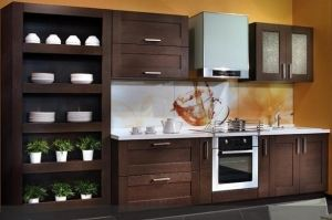 Кухня Луиза прямая - Мебельная фабрика «Анонс»