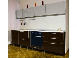 Глянцевая прямая кухня Мохито - Мебельная фабрика «Виктория»