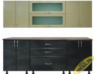 Кухня прямая 21 - Мебельная фабрика «Трио мебель»