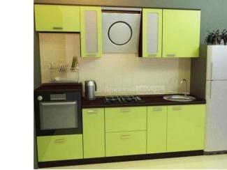 Малогабаритная прямая кухня Премиум 3 - Мебельная фабрика «Аркадия-Мебель»