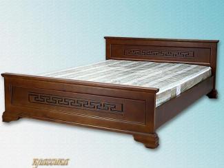 Кровать классика с рисунком