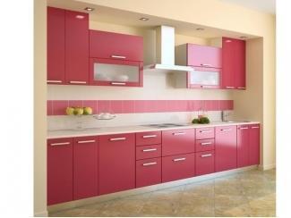 Розовая кухня  - Мебельная фабрика «Интерьер»