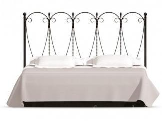 Кровать с кованным изголовьем Норман  - Мебельная фабрика «Фран»