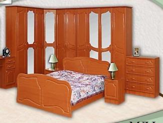 Спальня модульная Натали (МДФ) - Мебельная фабрика «Элна»