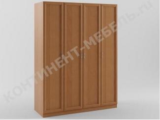 Шкаф распашной 4-х дверный - Мебельная фабрика «Континент-мебель»
