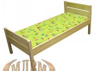 Кровать детская прямая спинка - Мебельная фабрика «ФСМ (Фабрика стильной мебели)»