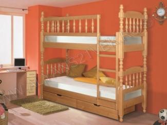 Двухъярусная кровать  - Мебельная фабрика «Альянс 21 век»