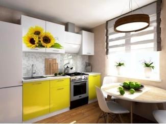 Кухня Талита с фотопечатью - Мебельная фабрика «Вега»
