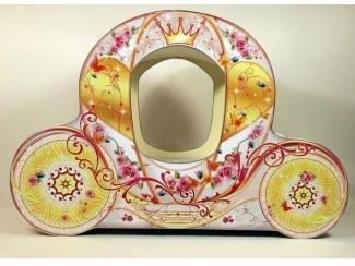 Кровать для девочек Карета Золушка - Мебельная фабрика «ViVera»