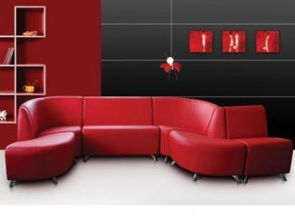 Диван угловой Уют-офис 1 - Мебельная фабрика «СТД»