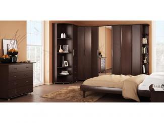 Спальный гарнитур Прайд 1 Венге - Мебельная фабрика «Фарес»