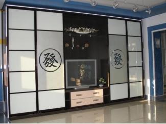 Шкаф-купе с нишей для ТВ - Мебельная фабрика «Мебель СаЛе»