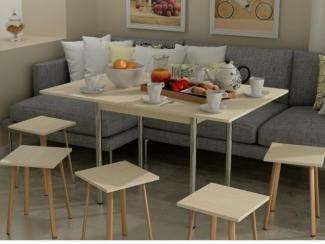 Стол обеденный раскладной - Мебельная фабрика «Гайвамебель»