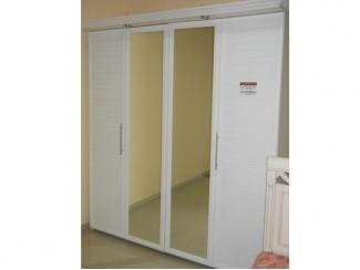 Белый шкаф Гармошка - Мебельная фабрика «Орвис»