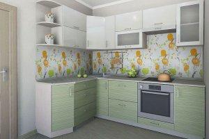 Кухонный гарнитур Май  - Мебельная фабрика «Славные кухни (ИП Ларин В.)» г. Ульяновск