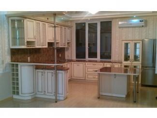Угловая кухня с островом - Мебельная фабрика «Альфа-Мебель»