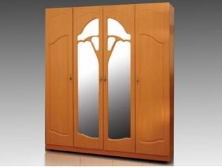 Шкаф четырехстворчатый с зеркалами  - Мебельная фабрика «Восток-мебель»
