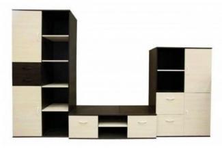 Простая стенка под телевизор №1 - Изготовление мебели на заказ «Мебель для вашего дома»
